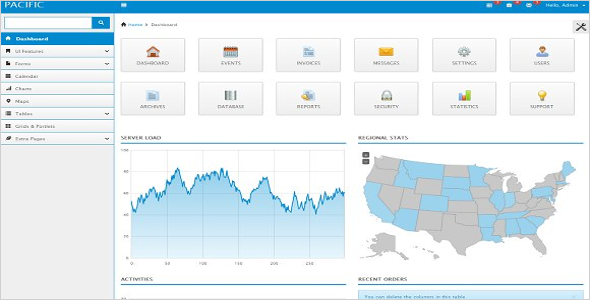 Backend Html Admin Template