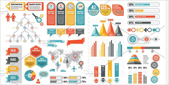 Basic Infographic Elements Template