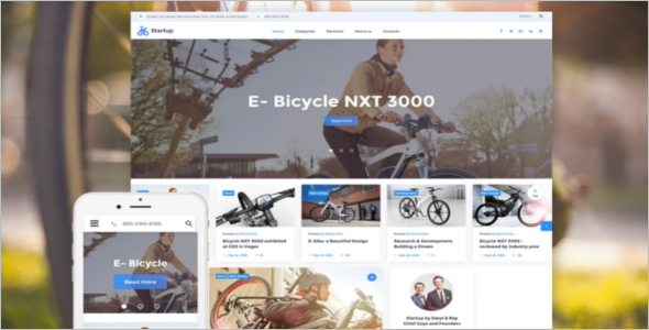 Basic Startup Website Template