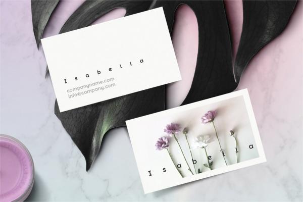 Beautiful Card Identity promo