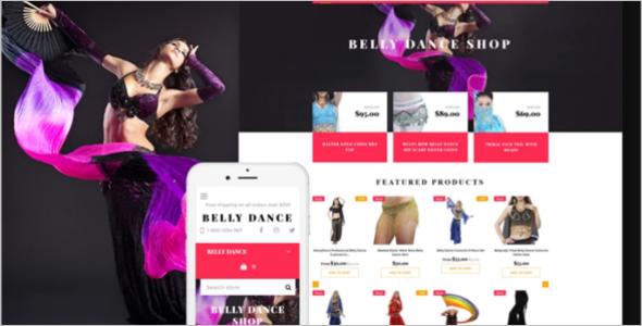 Belly Dance Fashion Shopify Theme