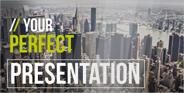 Best Creative Presentation Template