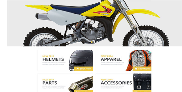 Bike Accessories OsCommerce Template