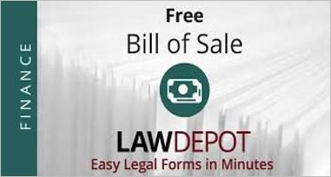 Bill Of Sale Texas Templates