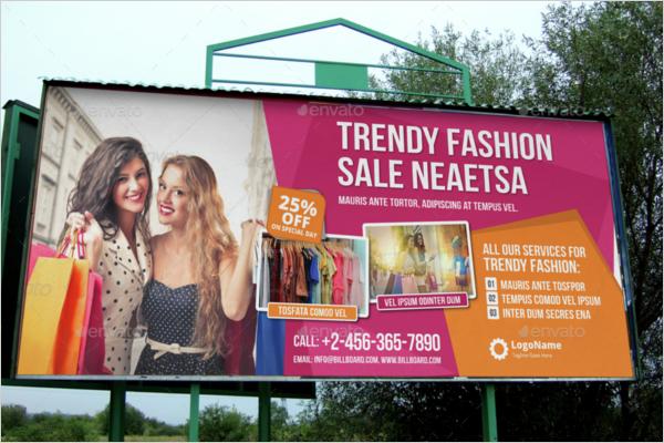 Billboard Roll-up Banner Outlook