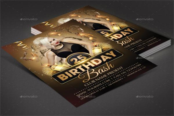 Birthday Event Celebration Flyer