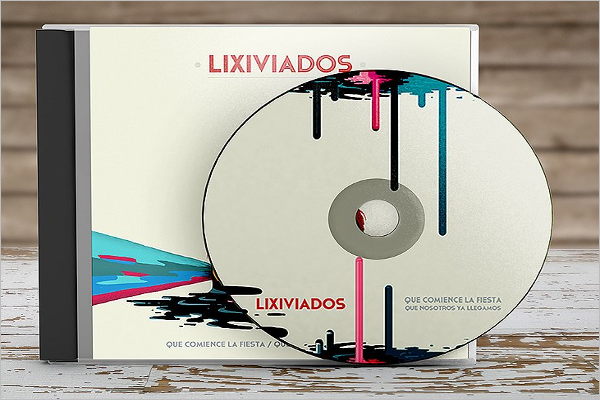 Blue Ray CD Mock Design