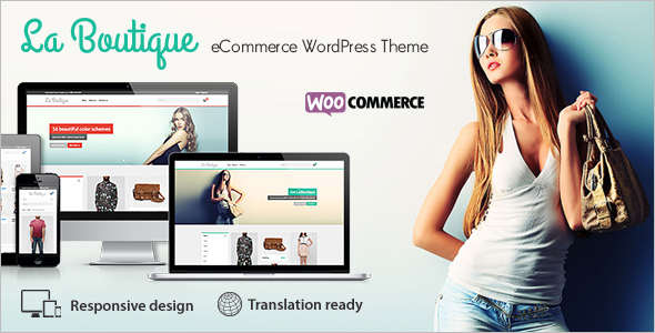 Bootstrap Boutique WordPress Template
