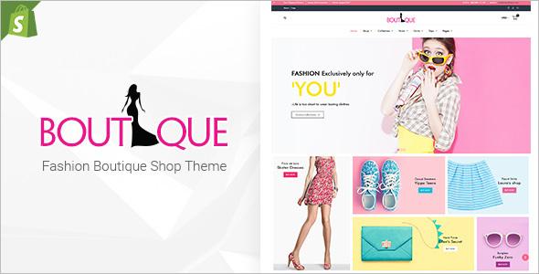 Boutique Fashion Shopify Template