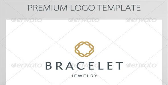 Bracelet Symbol Logo Template