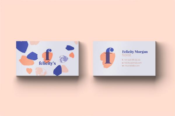 Brand Identity Florist Card