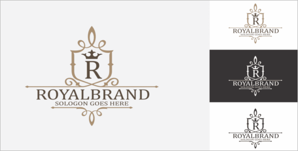 Brand Royal Crest Design Template