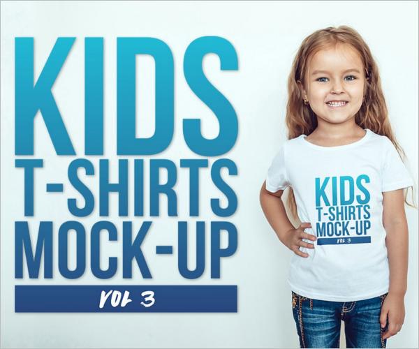 Brand kids T Shirt Design