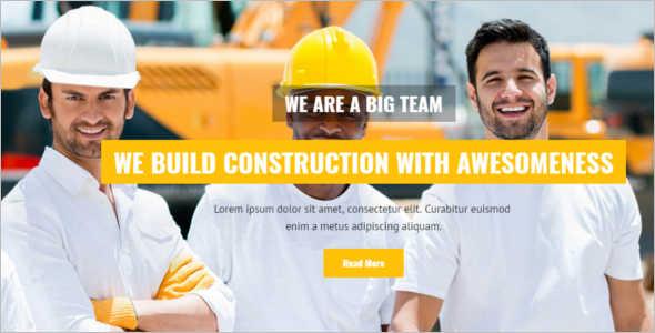 Build Under Construction Template