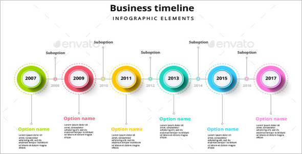 Business Infographic Element Template