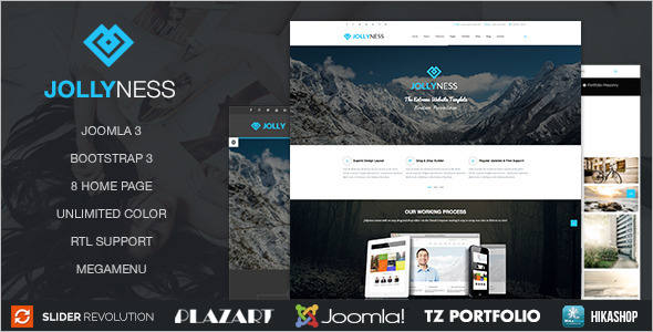 Business Personal Portfolio Joomla Template