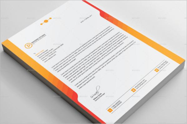 Business Presentation Folder Design