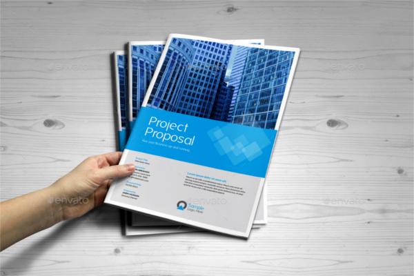 Business Proposal Brochure Outlook