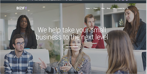 Business Startup Website Template