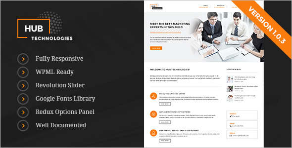 Business Technology WordPress Theme