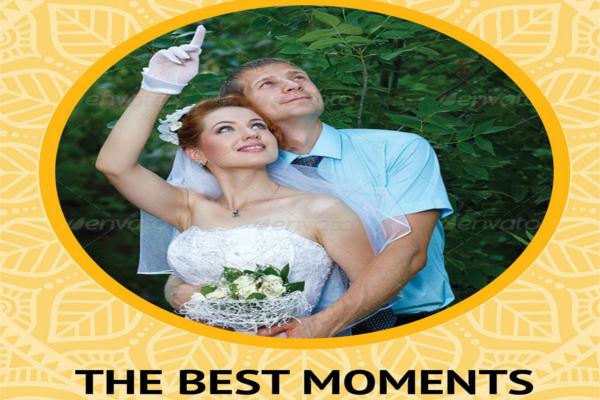 CD & DVD Wedding Cover Label