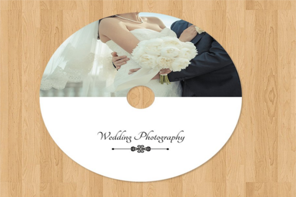 CD Photographer Wedding Template