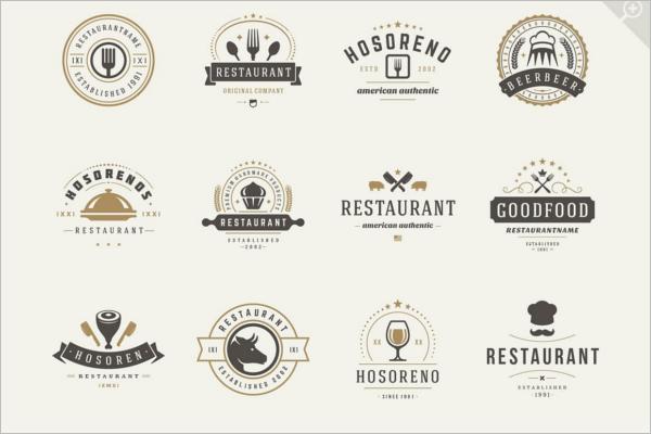 Cafeteria Restaurant Logo Design