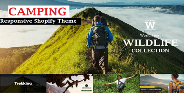 Camping Experience Shopify Theme