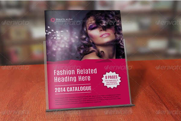 Catalog Fashion Brochure Ideas