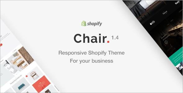 Chair Responsive Shopify Theme