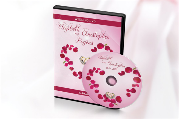 Classic Vintage Wedding CD Design