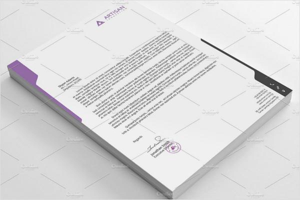 Clean Envelope Template Outlook