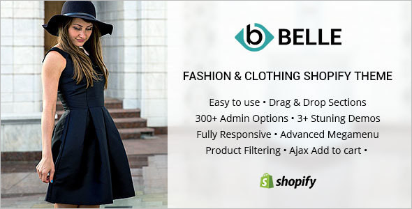 Clothing & Fashion Shopify Theme