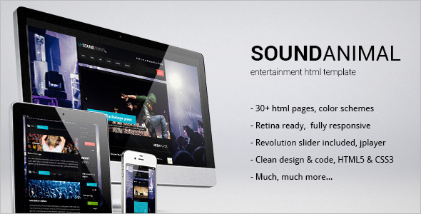 Club Night Life Html Template
