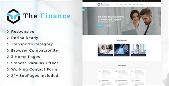 Consultancy Business Service Website Template