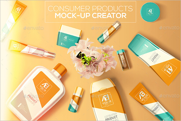 Consumer Products Mock-up