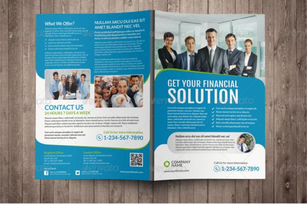 Corporate Bi-Fold Brochure Ideas