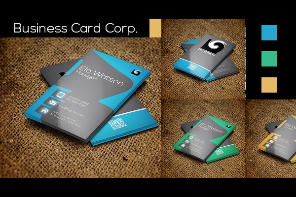 Corporate Business Card Design Ideas