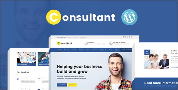 Corporate Consultan WordPress Template