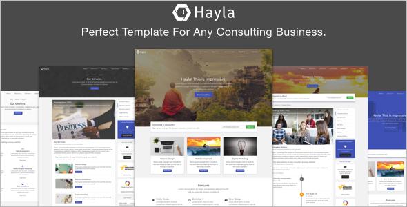 Corporate Consultancy Business Website Template