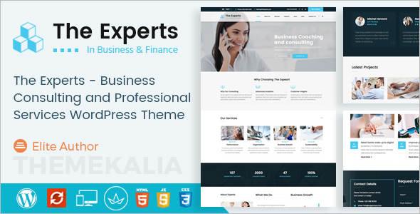 Corporate Finance WordPress Template