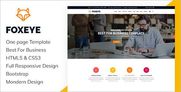 Corporate HTML 5 WordPress Template
