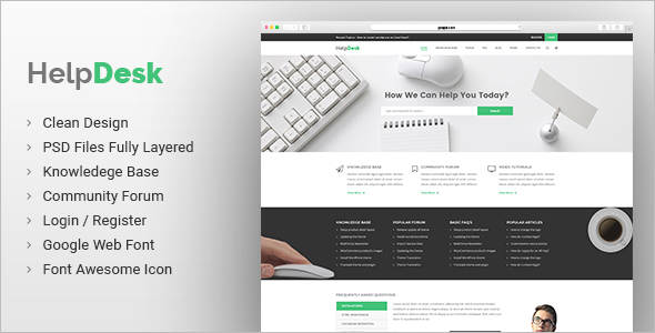 Corporate Knowledge Base Website Template