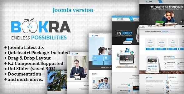 Corporate Multi-Purpose Joomla Template