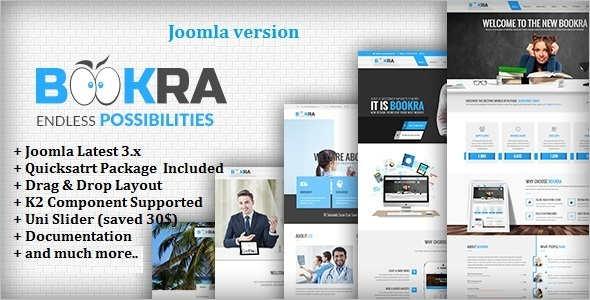 Corporate Multi-Purpose Joomla Template