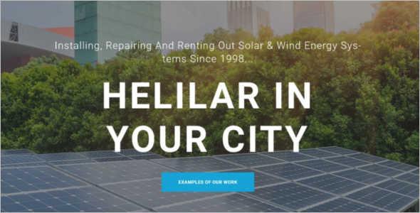 Corporate Renewable WordPress Template