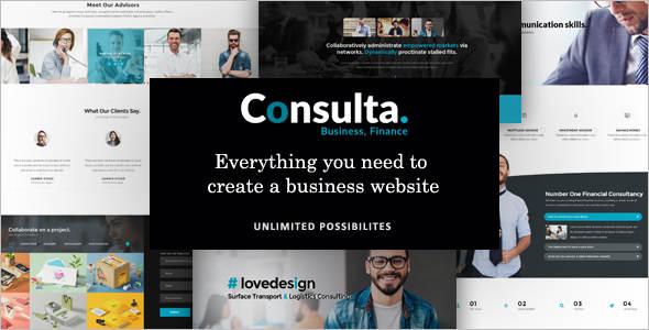 Corporate-Trader-WordPress-Template