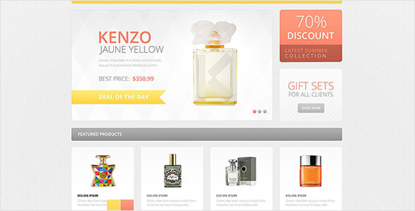Cosmetics Accessories OsCommerce Template