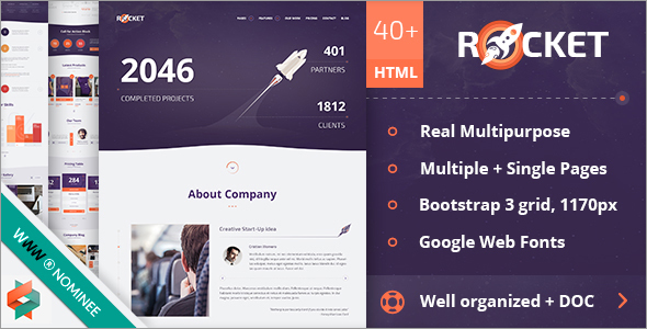 Cosmic Multi Purpose Html5 Template