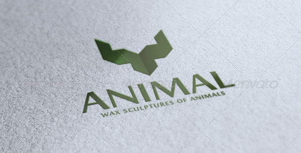 Creative Animal Sculpture Design Logo